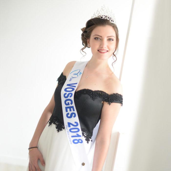 élection Miss Lorraine Miss Vosges Amandine LAN Miss Vosges Credit photo Noëlla BARRAS