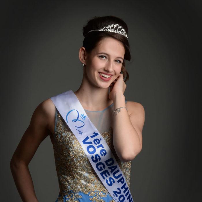 élection Miss Lorraine Miss Vosges Chloe BLAISE ere Dauphine Miss Vosges Crédit photo Noëlla BARRAS copie