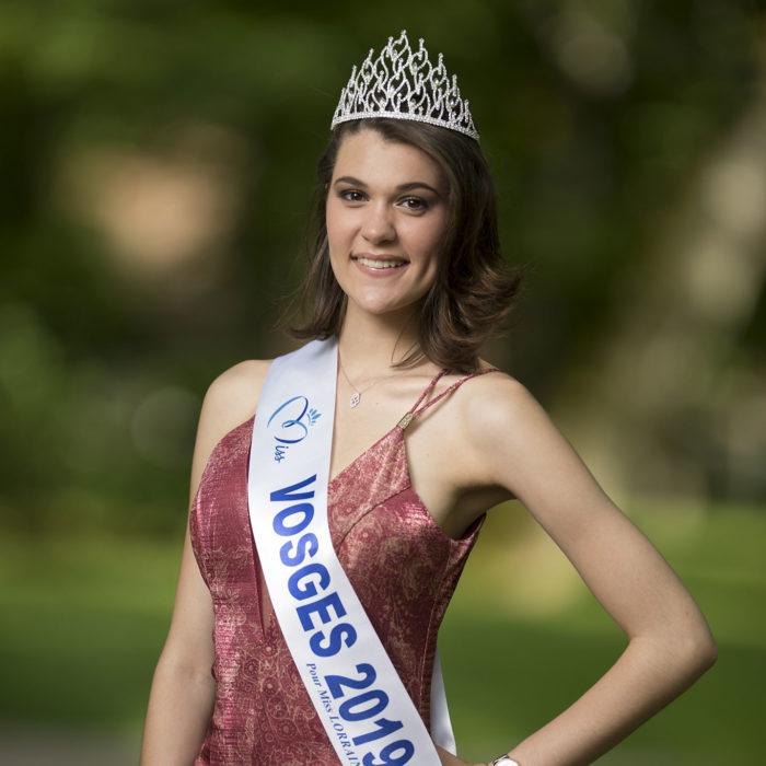 élection Miss Lorraine Miss Vosges Ninon OHM SCHNABEL
