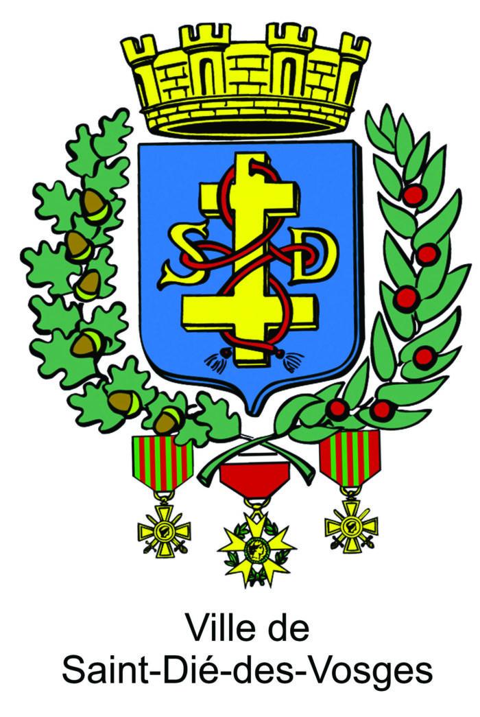 élection Miss Lorraine Saint Dié Logo Ville de Saint Die