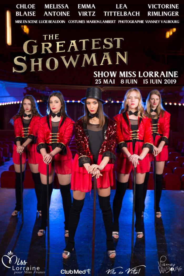 élection Miss Lorraine Sujets The Greatest ShowMan Version