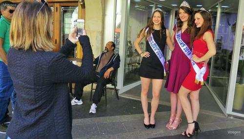 Miss Lorraine Spectacle Miss Lorraine Gerard Photo Vittel vm rmt miss vosges braderie urca