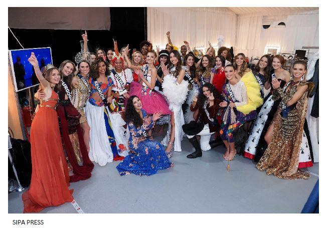 élection Miss Lorraine Election Photo costume régional miss france