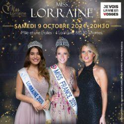 élection Miss Lorraine Election affiche FB