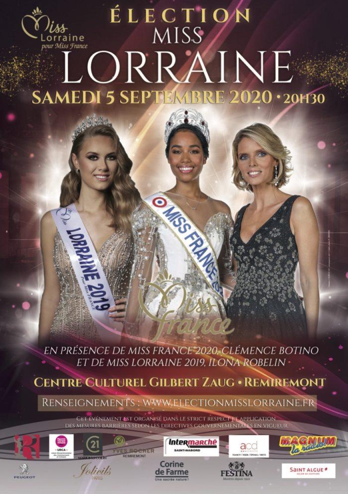 élection Miss Lorraine Miss Lorraine Affiche