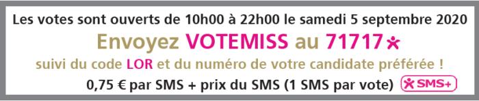 élection Miss Lorraine Miss Lorraine Appel aux votes