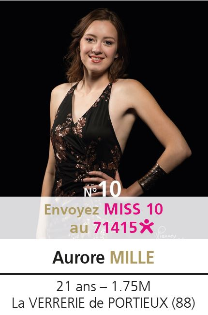 election miss lorraine election Candidate N° Aurore MILLE vote