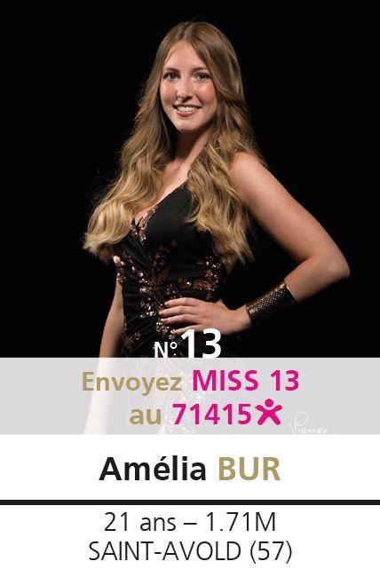 election miss lorraine election Candidate N° Amélia BUR vote