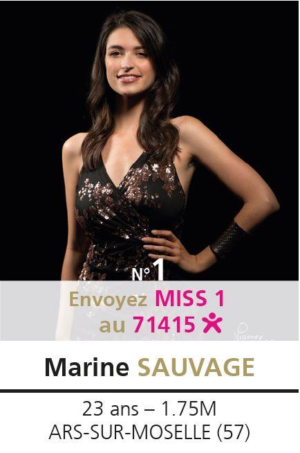 election miss lorraine election Candidate N° Marine SAUVAGE vote