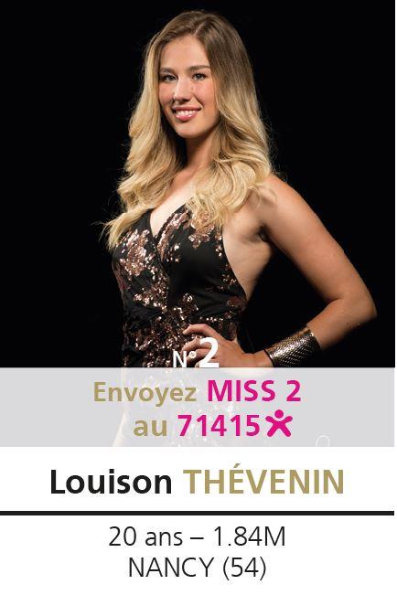 election miss lorraine election Candidate N° Louison THEVENIN Vote