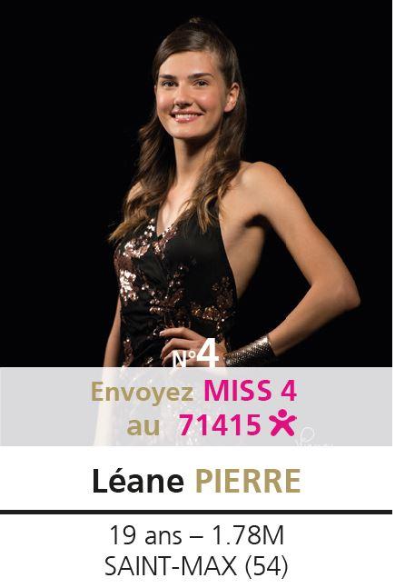 election miss lorraine election Candidate N° Léane PIERRE vote