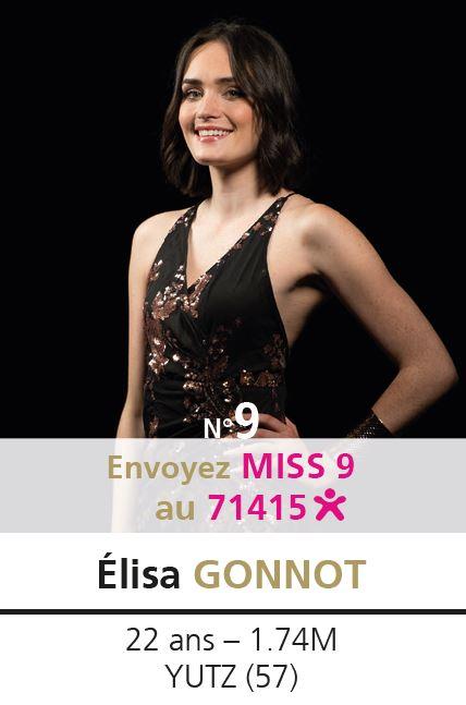 election miss lorraine election Candidate N° Élisa GONNOT vote